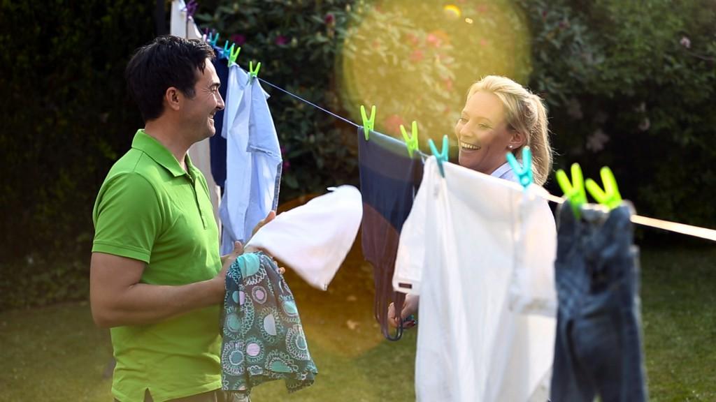 Frühlingsduft für die Wäsce - einfach draußen aufhängen!