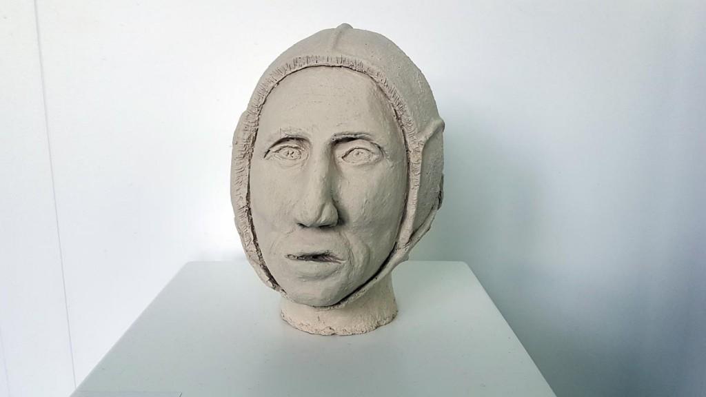 Der Kopf eines Argonauten. wie ihn sich Rüdiger Szymczak vorstellt.