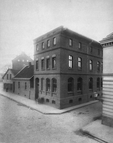 Die Gelsenwasser-Hauptverwaltung auf der Louisenstrasse 1893.
