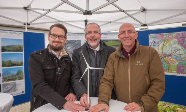Neues Windrad für Mülheim an der Ruhr