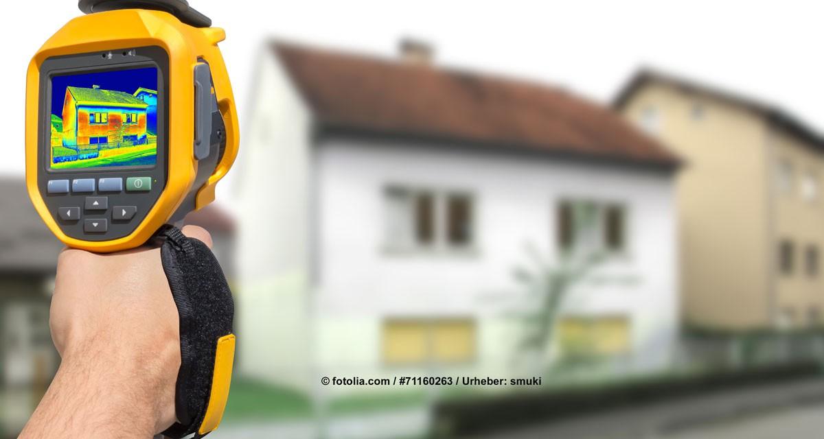 Mit Thermografie Schwachstellen im Haus aufdecken