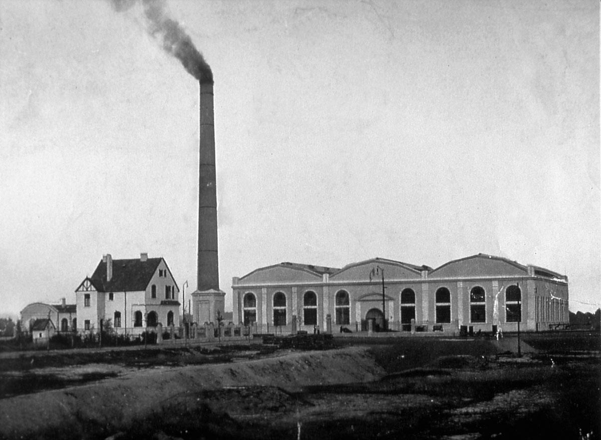 Abschied von der Kohle: 1908 begann mit dem Wasserwerk in Haltern eine neue Ära für die Wasserversorgung im Ruhrgebiet und im Münsterland.