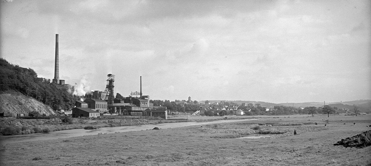 Abschied von der Kohle: Die Ruhr führte zuw enig Wasser und war verschmutzt. Wassernot im Ruhrgebiet ab 1890