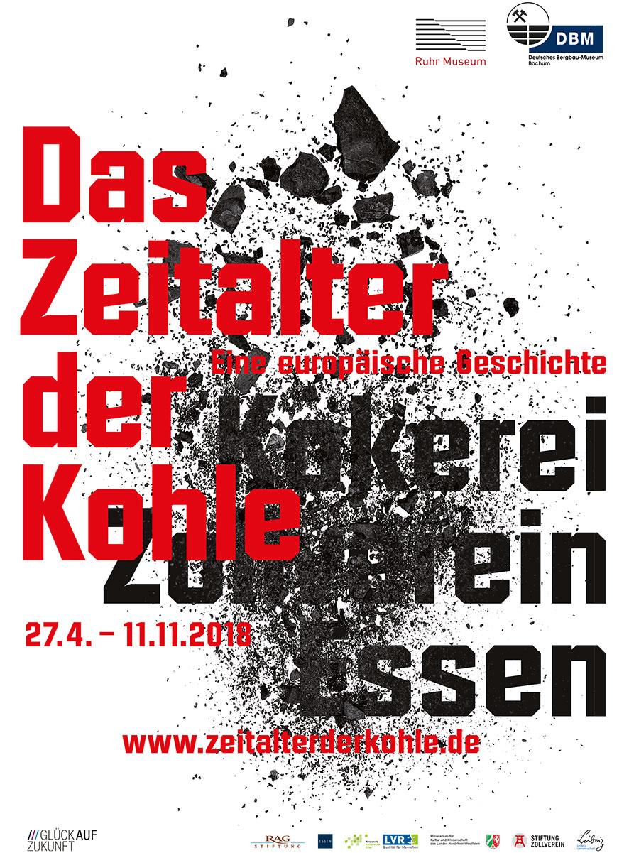Zeitalter der Kohle - das Plakat zur Ausstellung