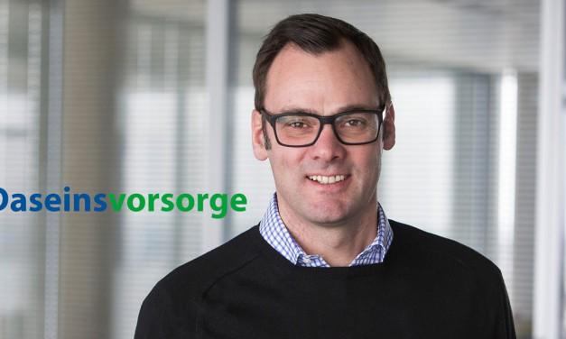 Tag der Daseinsvorsorge: Interview mit Henning Deters