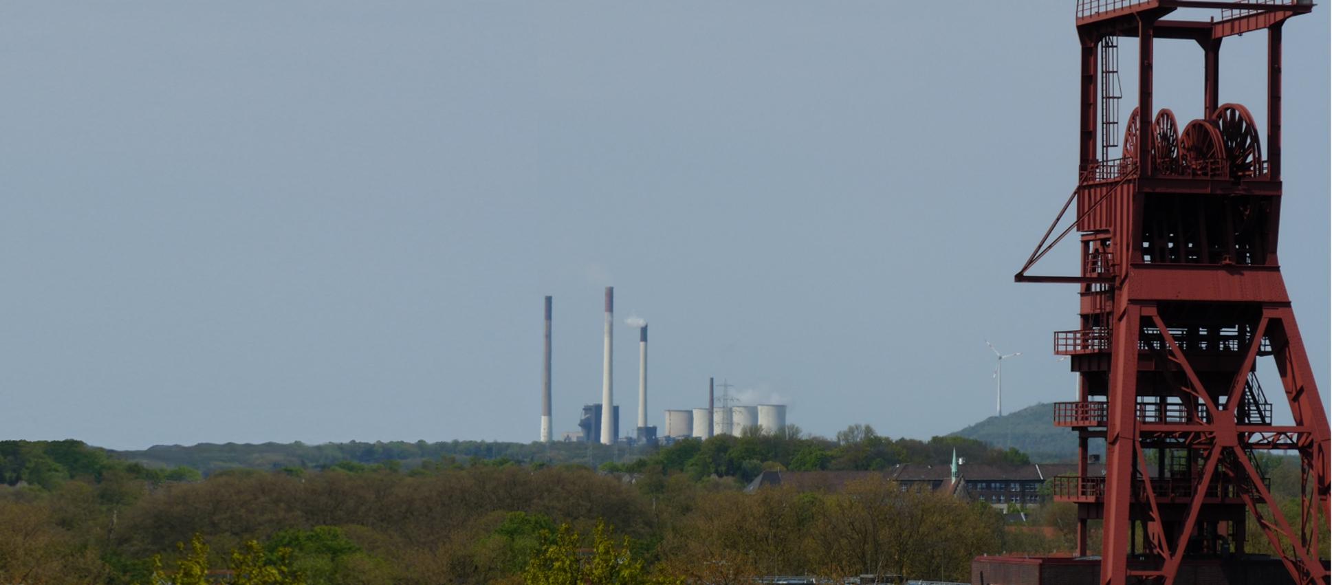 Der Strukturwandel im Ruhrgebiet ist allgegenwärtig.