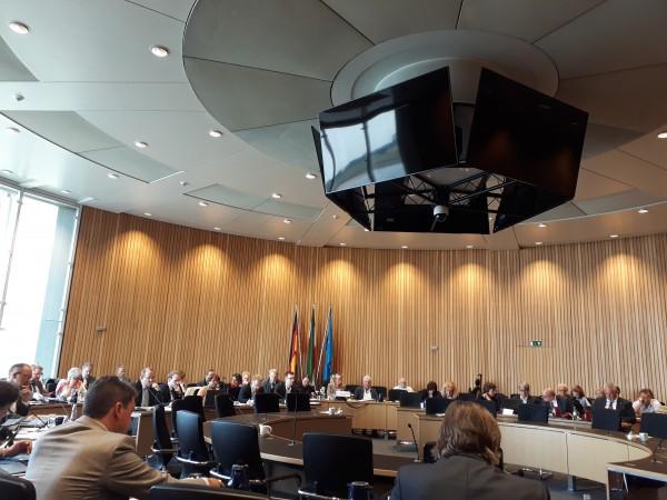 Anhörung des Umweltausschusses im Landtag NRW.