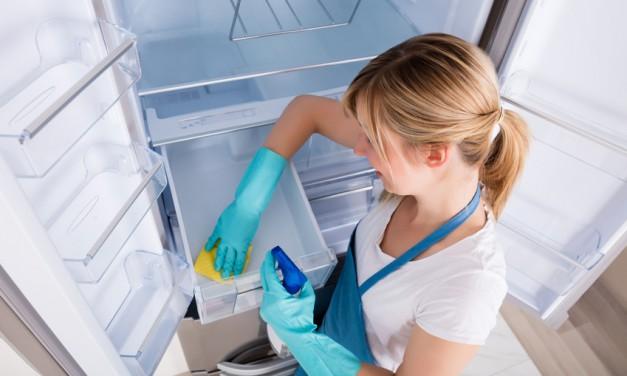 Kühlschrank richtig reinigen