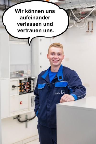 Arbeiten im Stromnetz bei Gelsenwasser: Ausbildung zum Elektroniker für Betriebstechnik