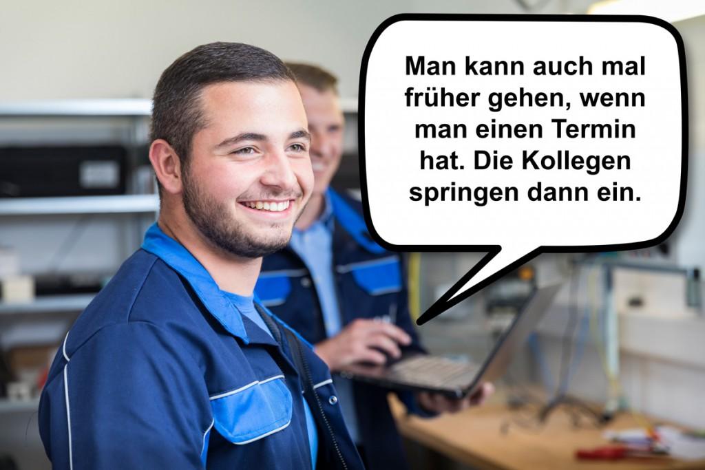 Arbeiten im Stromnetz bei Gelsenwasser: Möglich mit einer Ausbildung zum Elektroniker für Betriebstechnik.