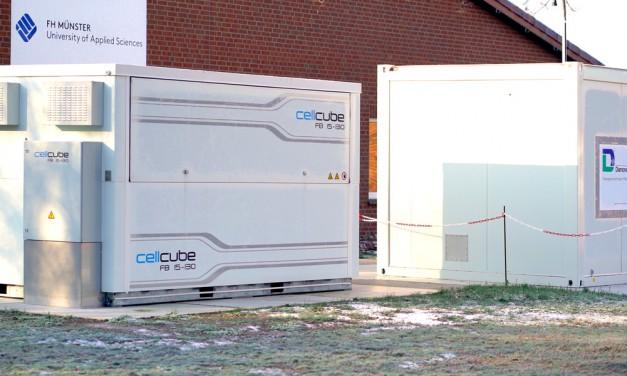 Gelsenwasser testet Energiespeicher