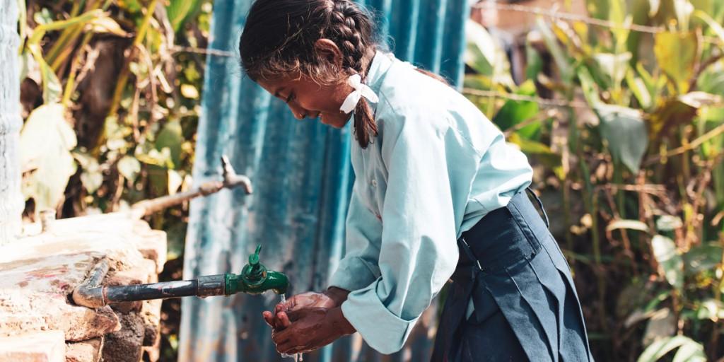 Trinkwasser verbindet Menschen und Umwelt.
