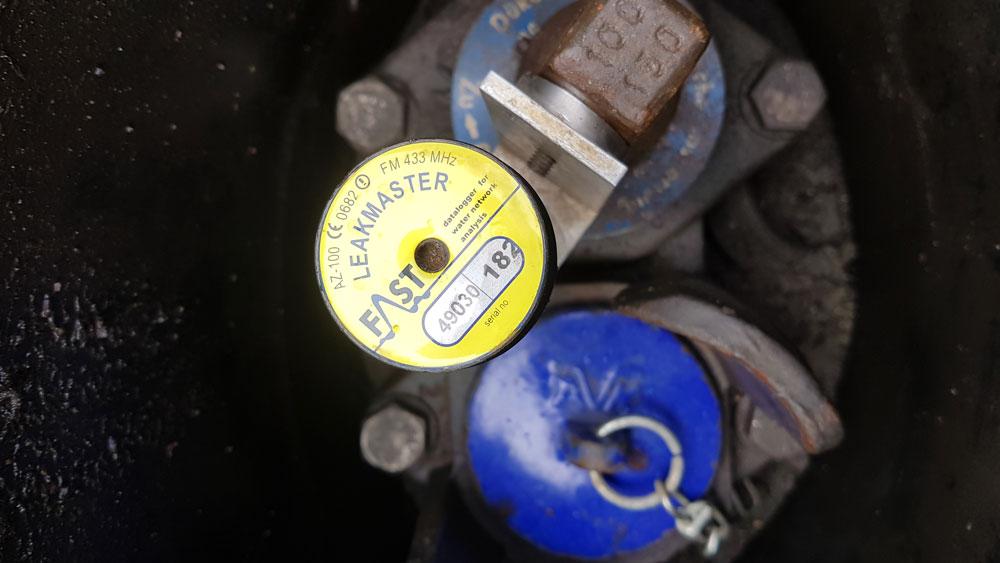 Wasserleitungen überwachen und Lecks suchen mit Loggern