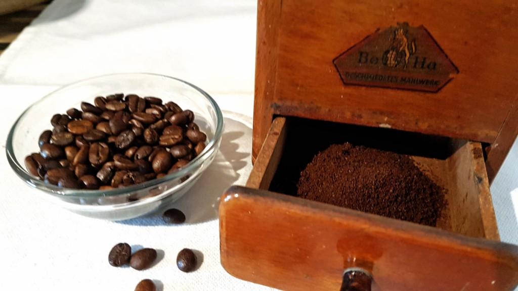 Mit FIlterkaffee lässt sich Abfall Zuhause vermelden.