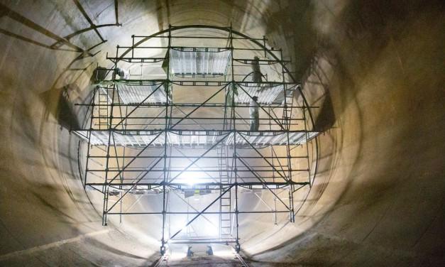 Kammern im Trinkwasserspeicher Halde Scholven werden saniert