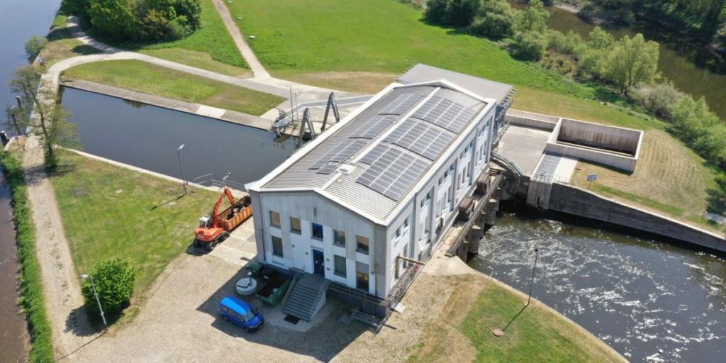 Das Wasserkraftwerk in Bochum-Stiepel.