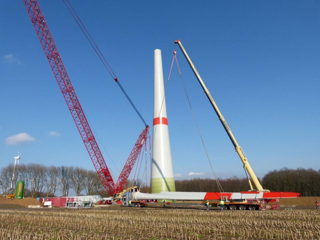 Der Bau neuer Windenergieanlagen stagniert.