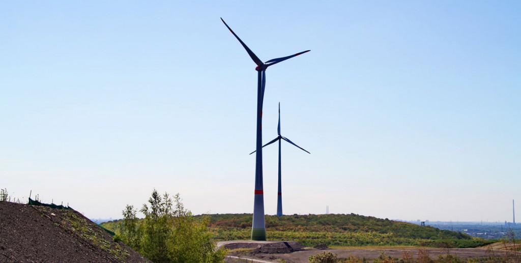 Kraft-Rekord im 1. Quartal 2020, auch im Windpark Hünxe