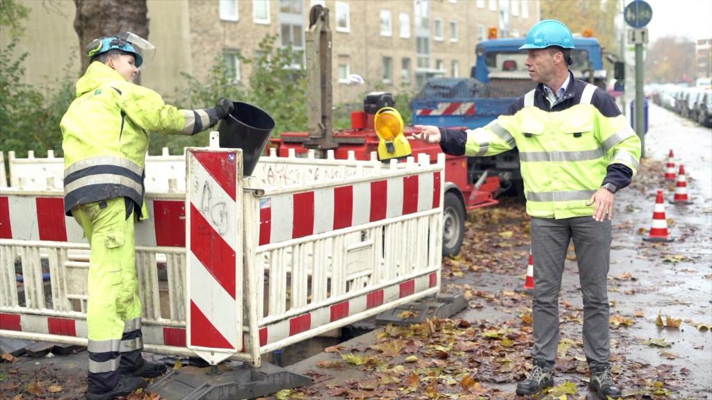 Arbeitssicherheit an Baustellen von Gelsenwasser überprüfen