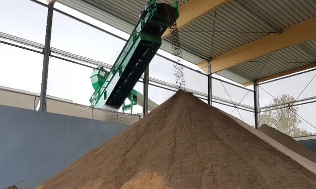 Nachhaltige Kreislaufwirtschaft: Aus Bodenaushub wird feinster Sand