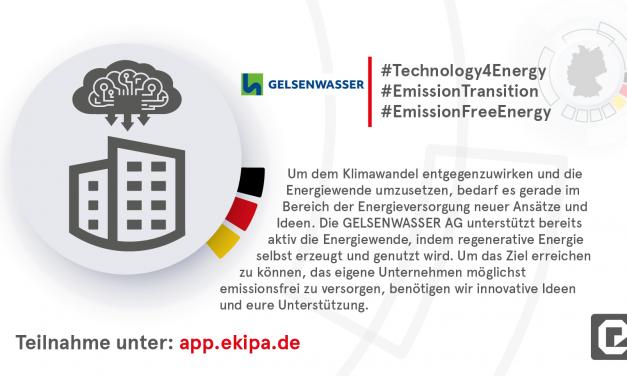 Innovationsprojekt Deutschland 4.0: Team blau-grün ist dabei