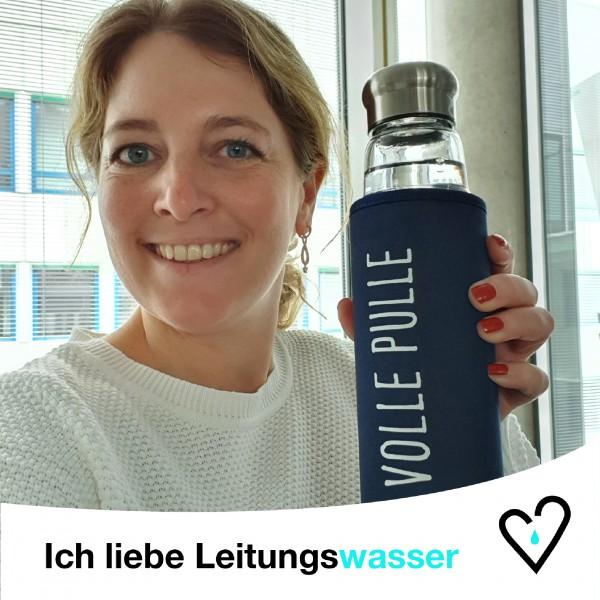 Aktion Leitungswasser-Liebe zum Weltwassertag 2021