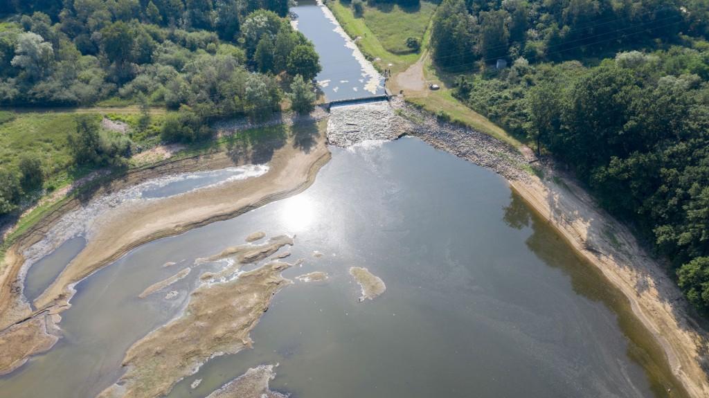 Dürre und Hotze haben sichtbare Auswirkungen auf die Talsperren zur Trinkwasserversorgung