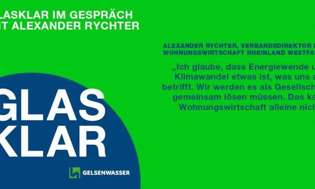 GLASKLAR mit Alexander Rychter zu Wohnen und Klimaschutz