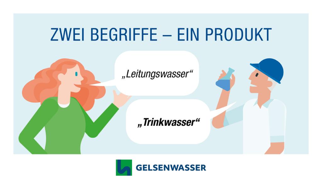 Trinkwasser aus der Leitung versus Leitungswasser - zwei Begriffe, ein Produkt